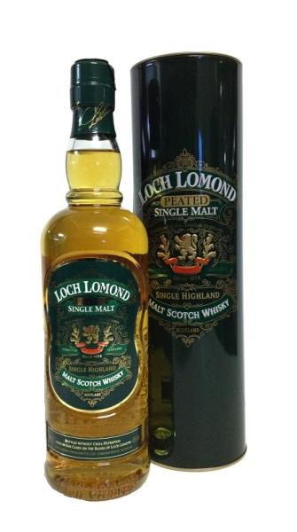 Single Malt Scotch Whisky der Marke Loch Lomond Peated 46% 0,7l Flasche