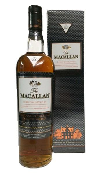 Single Malt Scotch Whisky der Marke The Macallan Director`s Edition 40% 0,7l Flasche