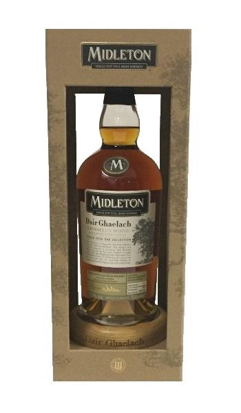Irish Whiskey der Marke Midleton Dair Ghaelach 57,9% 0,7l Flasche