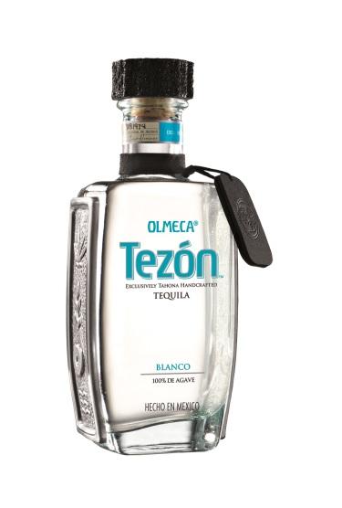Tequila Blanco der Marke Olmeca Tezon 40% 0,7l Flasche