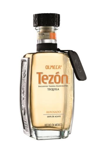Tequila Reposado der Marke Olmeca Tezon 40% 0,7l Flasche