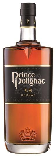 Cognac der Marke Prince Hubert de Polignac VS 40% 0,7l Flasche