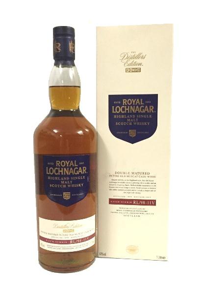 Single Malt Scotch Whisky der Marke Royal Lochnagar 40% 1,0l Flasche