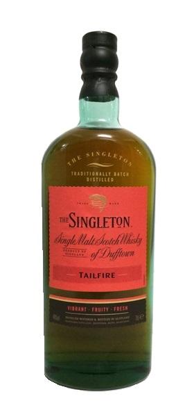 Single Malt Scotch Whisky der Marke The Singleton of Dufftown Tailfire 40% 0,7l Flasche