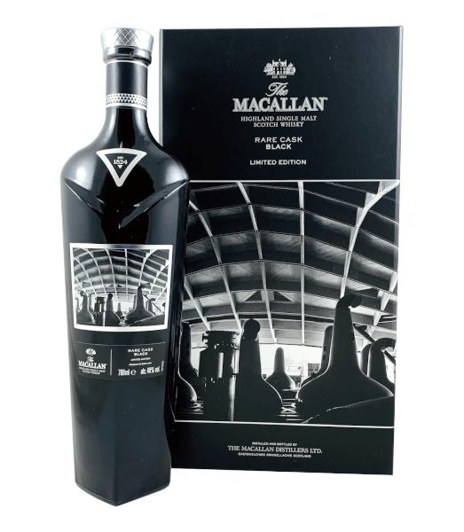 Single Malt Scotch Whisky The Macallan Rare Cask Black Limited Edition 48% 0,7l Flasche