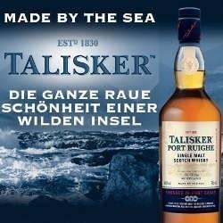 Talisker Port Ruighe Single Malt Scotch Whisky 45,8% 0,7l Flasche