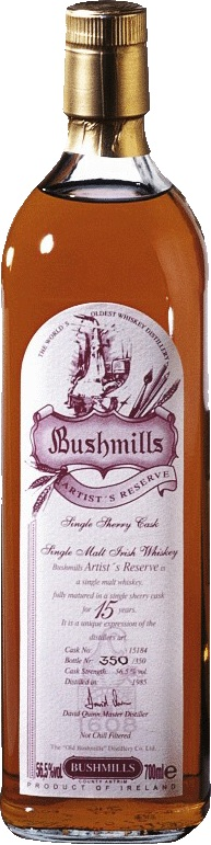 Bushmills-Irish-Whiskey-Original-Black-Bush-10-16-21-Jahre-1608-Artist-Reserve